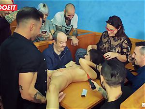 LETSDOEIT - red-hot nubile tormented and smashed At bondage & discipline party