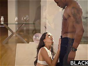 BLACKED first bi-racial For Spanish babe Alexa Tomas