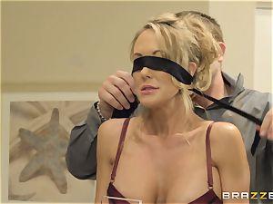 The husband of Brandi enjoy lets her ravage a different stud