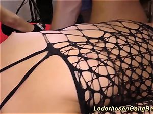 German mass ejaculation group sex soiree