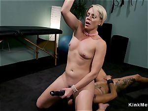 furry black spanked in suspension lezdom