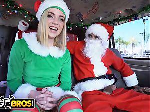 BANGBROS - Maddie Winters Dresses Like Elf On fuck Bus