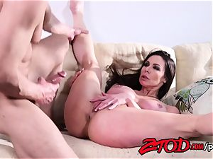 Smoking super-steamy Kendra eagerness tries another dude