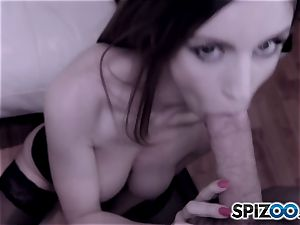 Stella Cox is ready to take a gigantic hard pipe in her arse