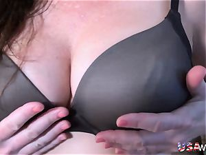 OldNannY super-naughty Lacey Starr got hard-core gang sex