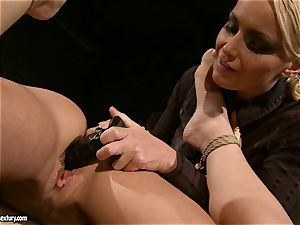 Kathia Nobili like to pinched down her victim with fuck stick