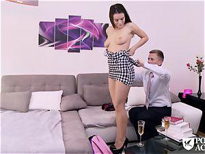 porn ACADEMIE - american Lana Rhoades plows principal