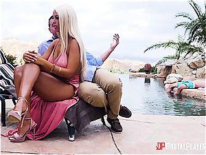 Bridgette B is a cheating bimbo housewife