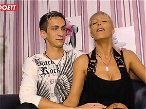 LETSDOEIT - scorching auntie rides nephews cock On orgy gauze
