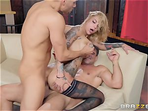 Bonnie Rotten taking it firm in every fuckhole
