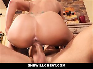 hotwife hubby observes Wifes cooter Get demolished