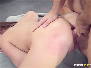 Maddy OReilly plumbed rock-hard by Johnnys rigid prick