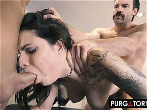 PURGATORY I let my wife drill 2 guys in front of me