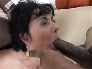 cuckold instructing Wathcing wifey have first-ever multiracial