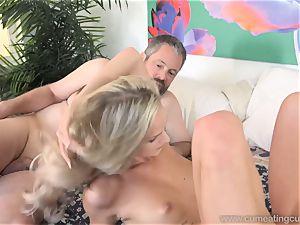 Emma Hix and husband ravage Her young boy buddy