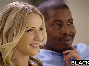 BLACKED Naomi woods and Karla Kush first multiracial three way