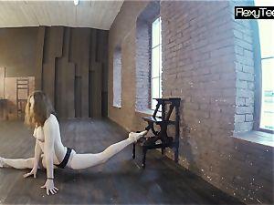 plump pale gymnast Rita