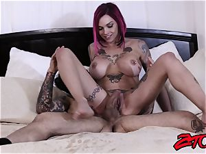rosy Haired Anna Bell Peaks Gets nailed Deep