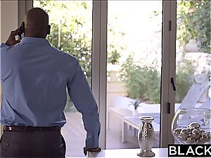 BLACKED super-sexy college girl Aidra Fox Takes two BBCs