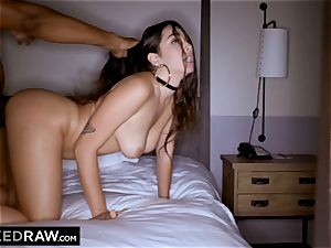 BLACKEDRAW Latina wife busts with 12 inch monster ebony man-meat