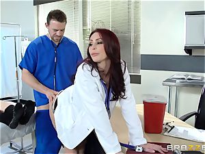 sumptuous medic Monique Alexander ravages her trainee