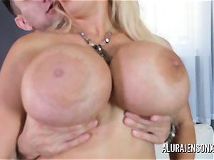 giant breast milf Alura Jenson likes tearing up junior folks