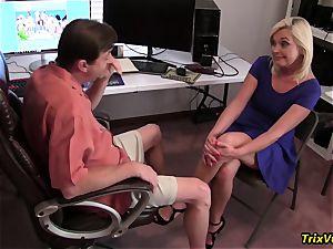 boning the torrid secretary