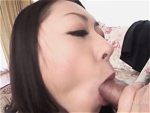 41Ticket - Ruri Hayami fellates bone