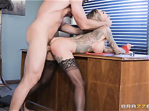 Karma Rx takes slit humped in the office