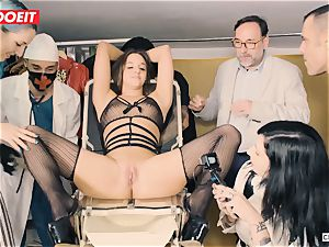 LETSDOEIT - Amirah Is manhandled at her first bdsm party
