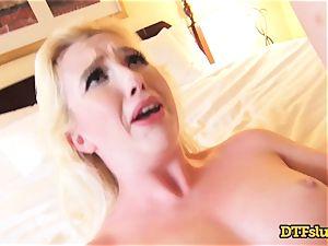 blonde fantastic babe Samantha Rone porked by James Deen