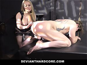 perverted Hardcore-Submissive Sissy Pegged By Aiden Starr