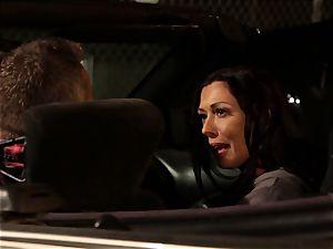 Last opportunity Sn 2 Rachel Starr pounded over car spandex hood