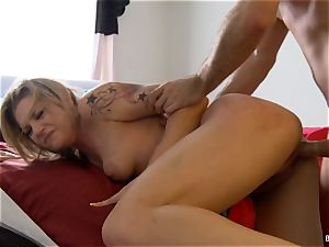 Dahlia's home movie hook-up gauze with James Deen