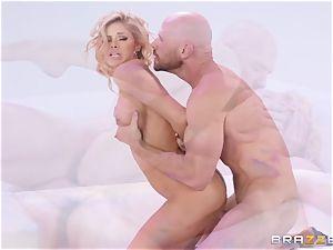Powder puff labia poke with Jessa Rhodes