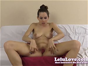 amateur female plays with jism packed condom in her cooter