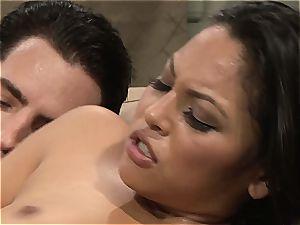 Adriana gets her latina slit pumped