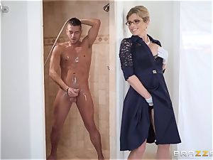 Cory chase banged in the shower