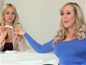 Sarah Vandella and Keira Nicole holiday fuckshare