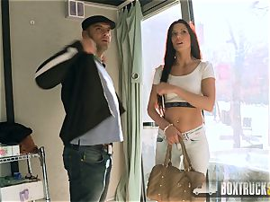 super-hot Alexa Tomas makes Money stripping off her Clothes