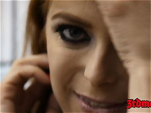 sandy-haired succubus Penny Pax ravaged into unloading