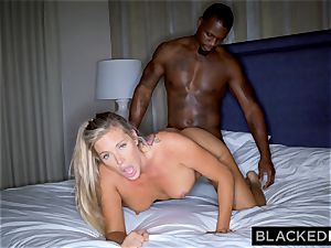 BLACKEDRAW blondie trophy wifey Cucks Her spouse With bbc