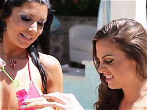 Romi Rain and Abigail Mac get each other all raw