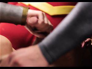 Justice League hardcore part five - Hero orgy with Romi Rain