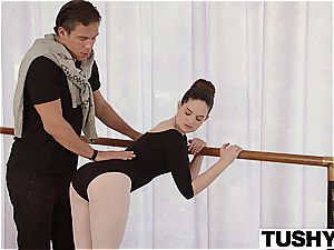 youthfull ballerina tries assfuck for the first-ever time