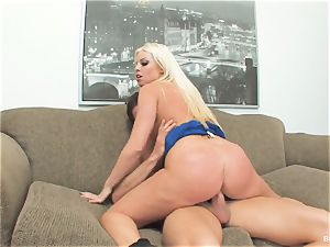 lucky stud smashes manager Britney during his job interview