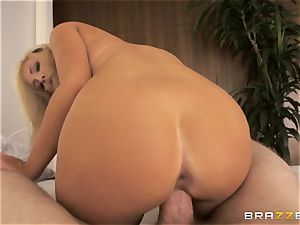 Tasha Reign rodeos weenie with her humid cunny