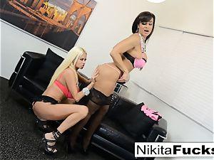 super-steamy Russian Nikita Von James fucks porno veteran Lisa Ann