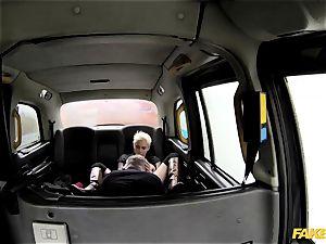 fake taxi sizzling spunky tough backseat hook-up