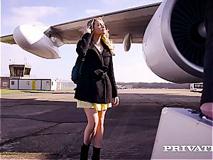 Private.com pummeling on a plane